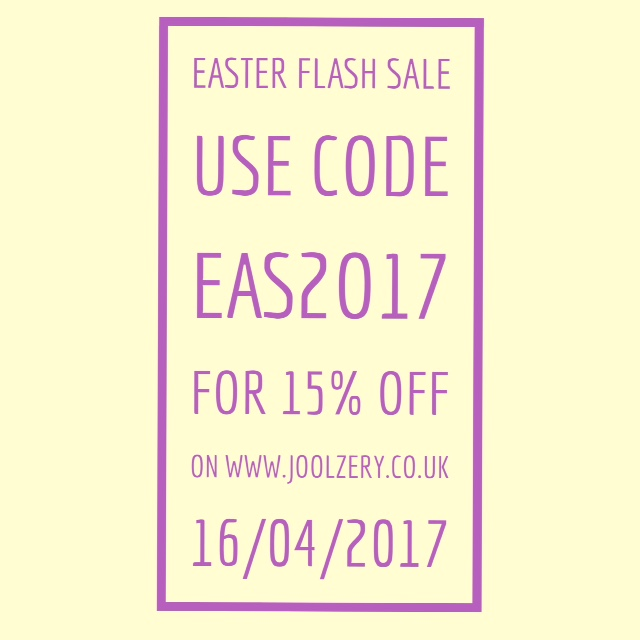 Joolzery Easter Flash Sales Code