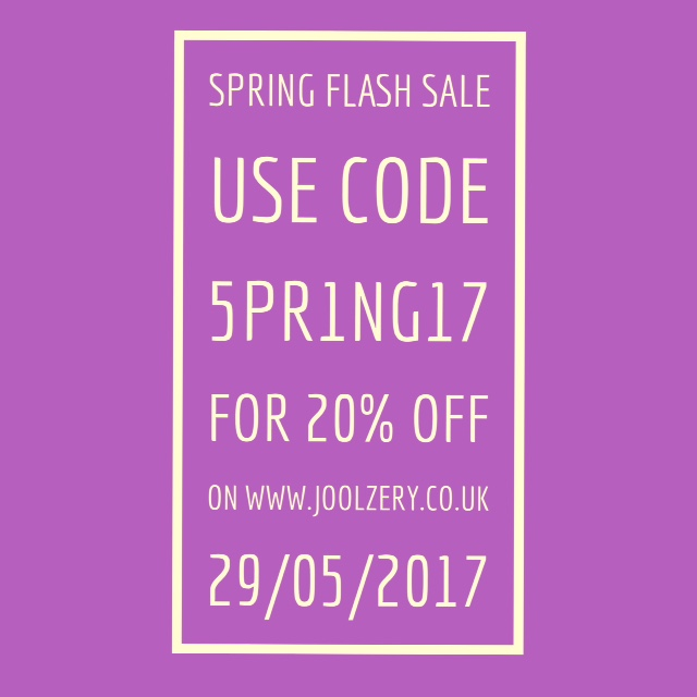 Joolzery Spring Day Flash Sales Code