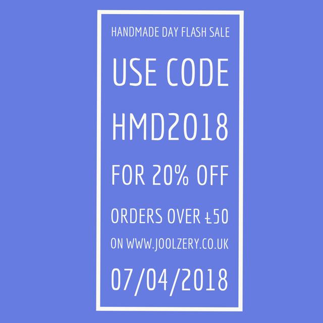 Handmade Day 2018 Voucher code
