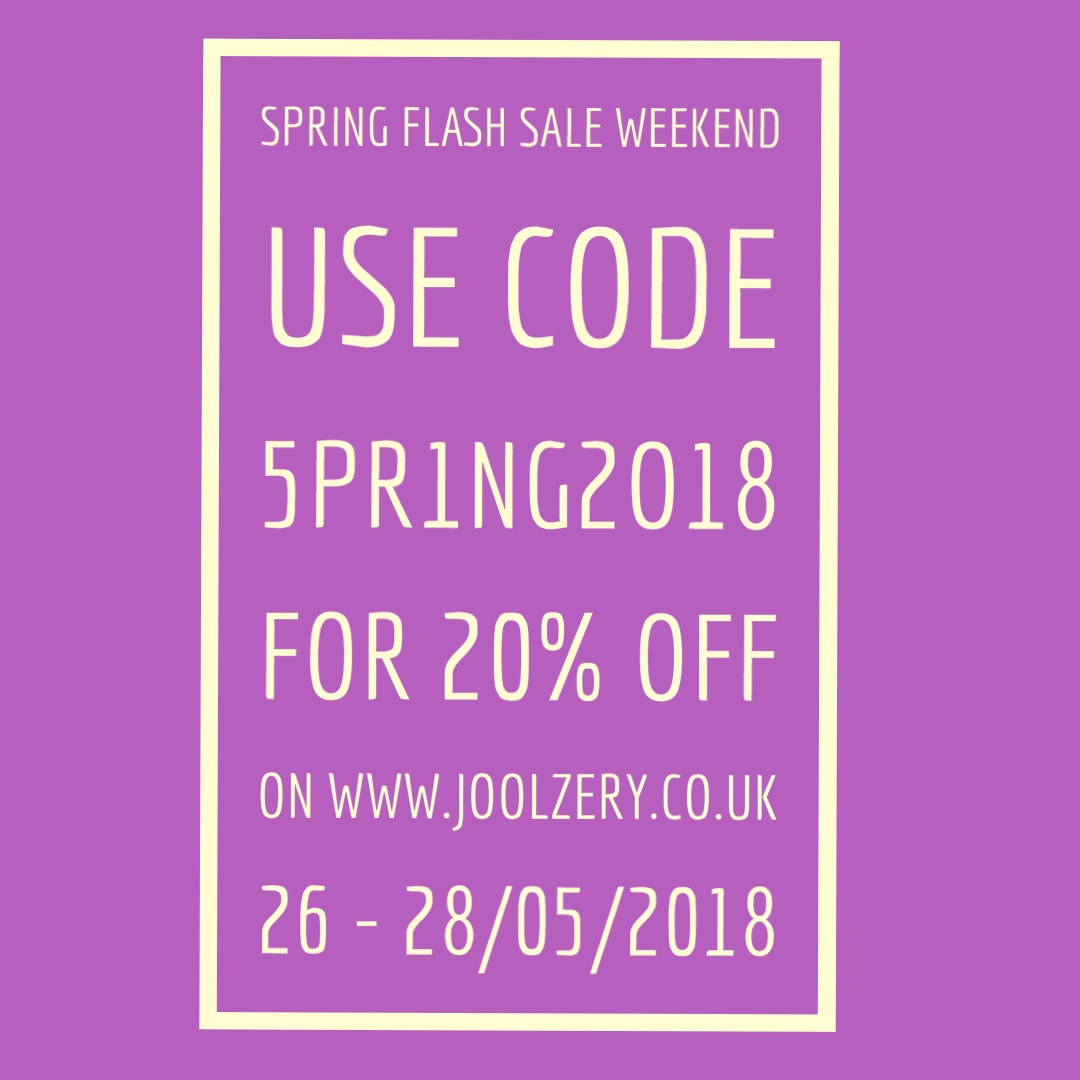 May Bank Holiday Weekend Flash Sales 2018 Voucher code