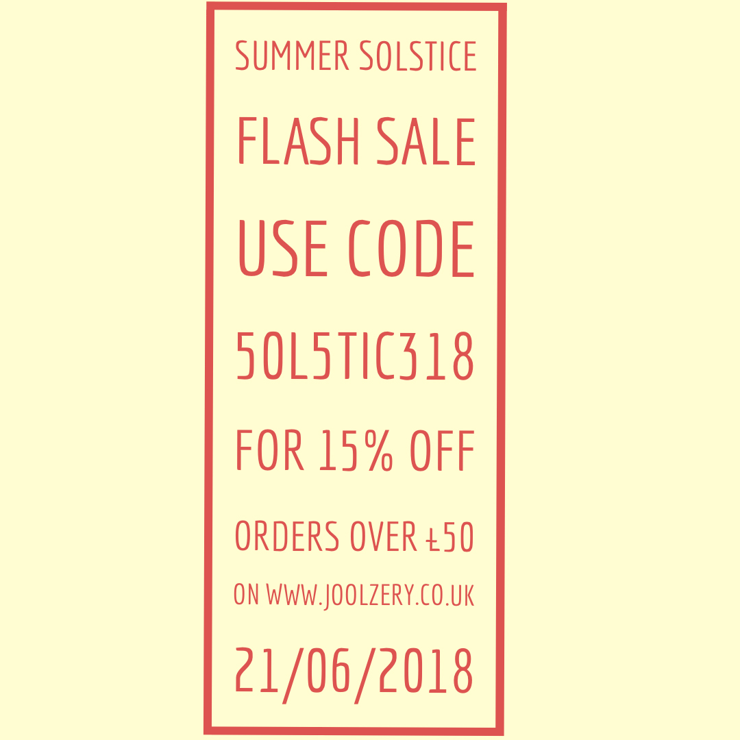 Summer Solstice Flash Sale 2018 Voucher code