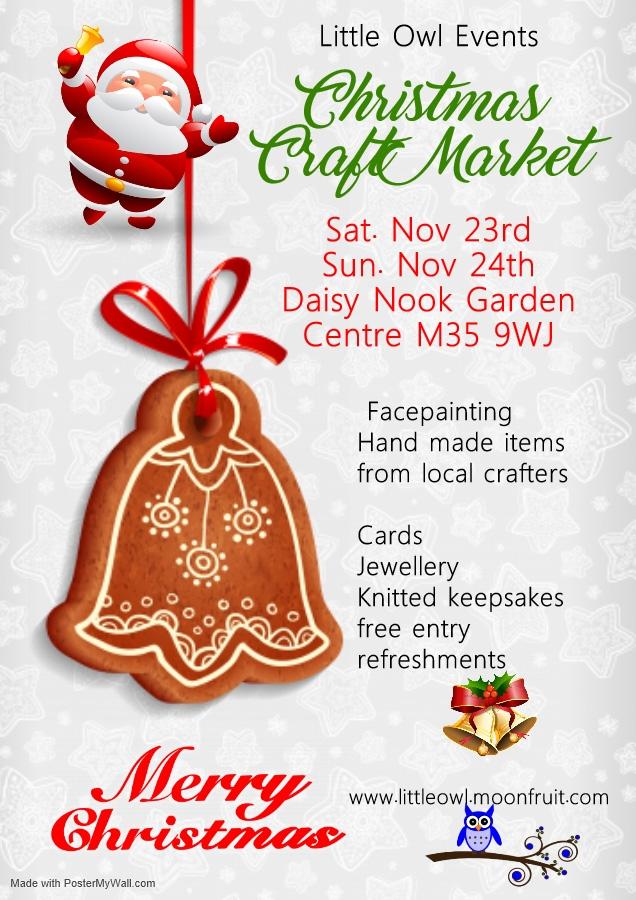 Christmas Craft Market at Daisy Nook Garden Centre