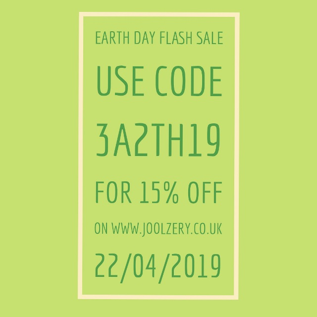 2019 Earth Day Flash Sales Code