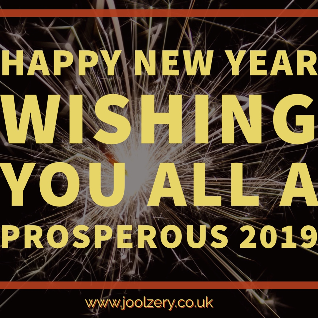 Wishing you all a Prosperous 2019