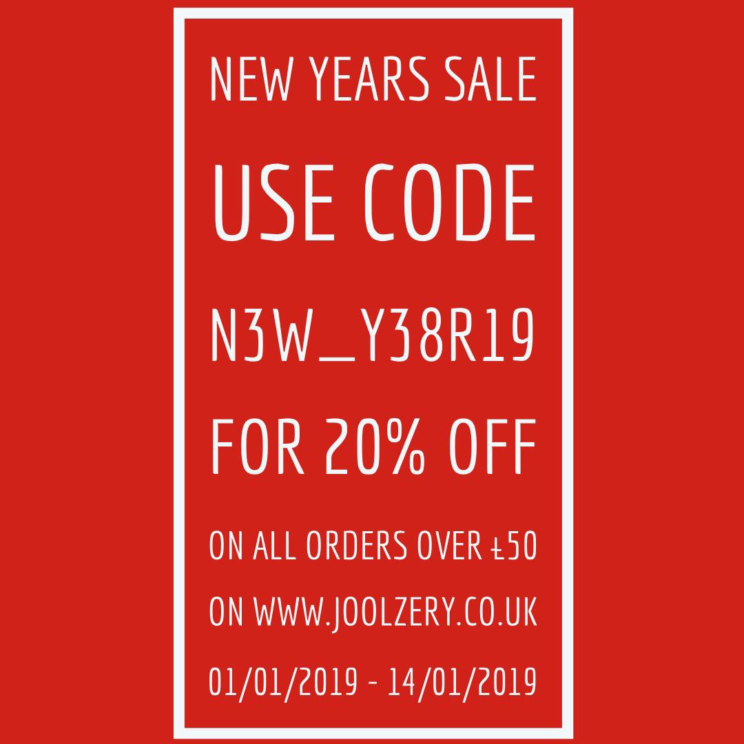 2019 Joolzery January Sales Code