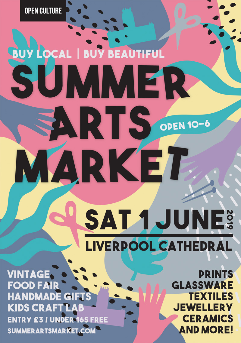 2019 Summer Arts Market Flyer