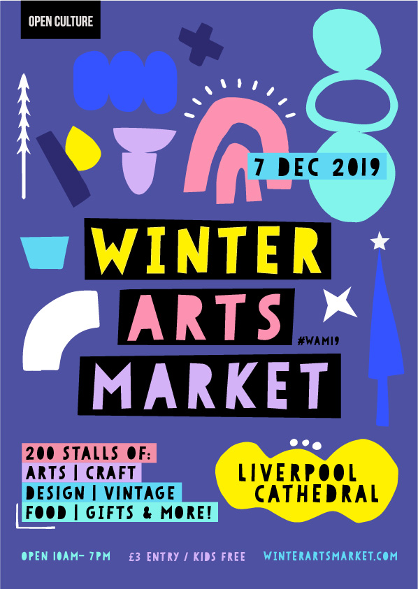 2019 Winter Arts Market Flyer
