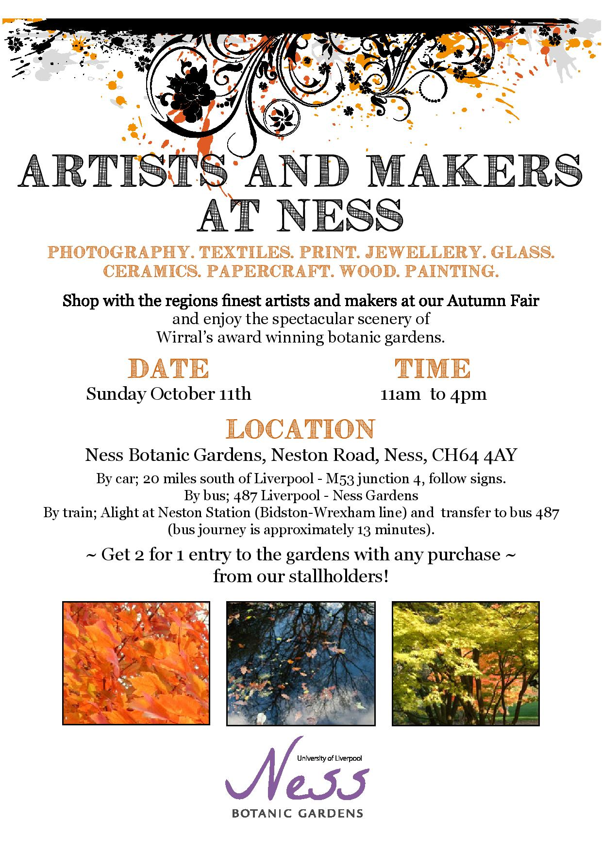 Ness October Makers Market
