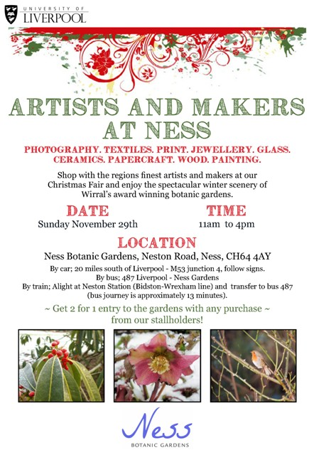 AM Ness Gardens November Crafts Market