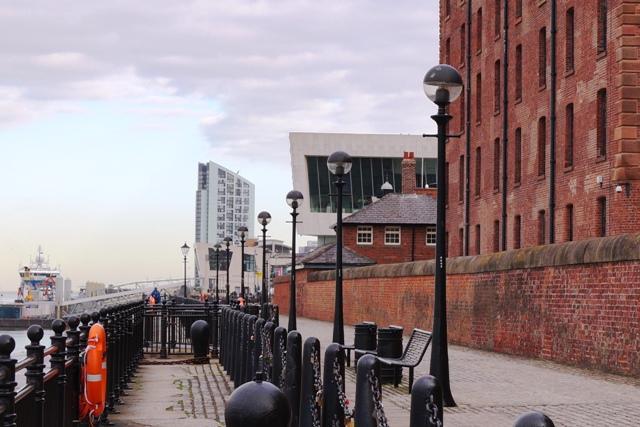 Albert Dock - Old & New