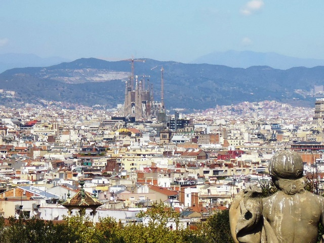 MNAC View of Barcelona