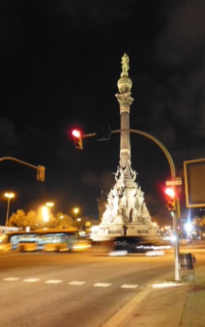 Columbus Column Barecelona