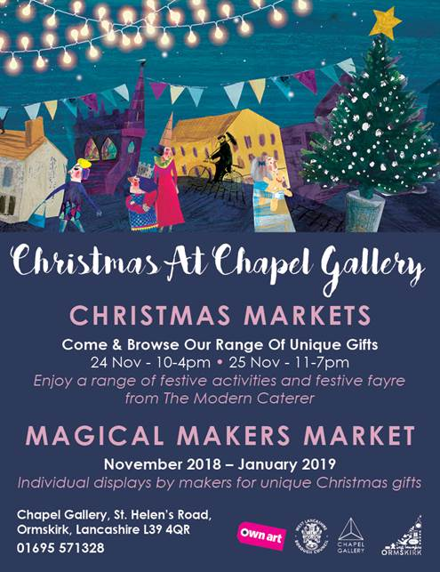 Chapel Gallery Xmas Market Flyer
