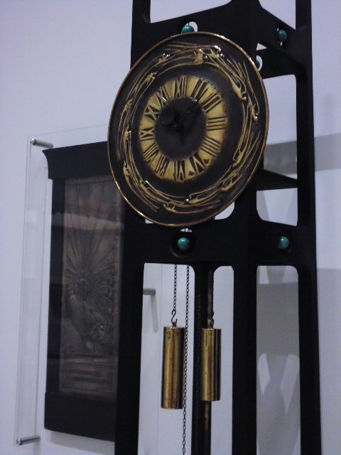 Mackintosh - Clockface Detail