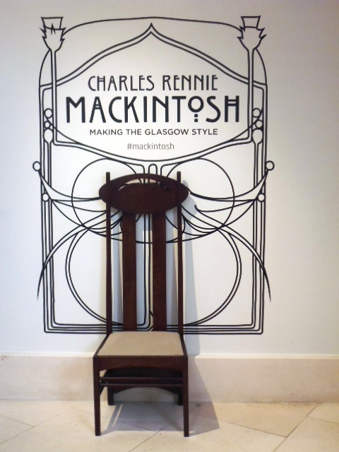 Charles Rennie Mackintosh - Making The Glasgow Style Exhibition - Walker Gallery, Liverpool