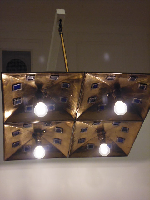 Mackintosh - Geometric Light fitting