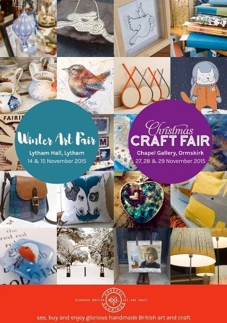 Hopeful Glorious Winter Arts Market 2015 Flyer