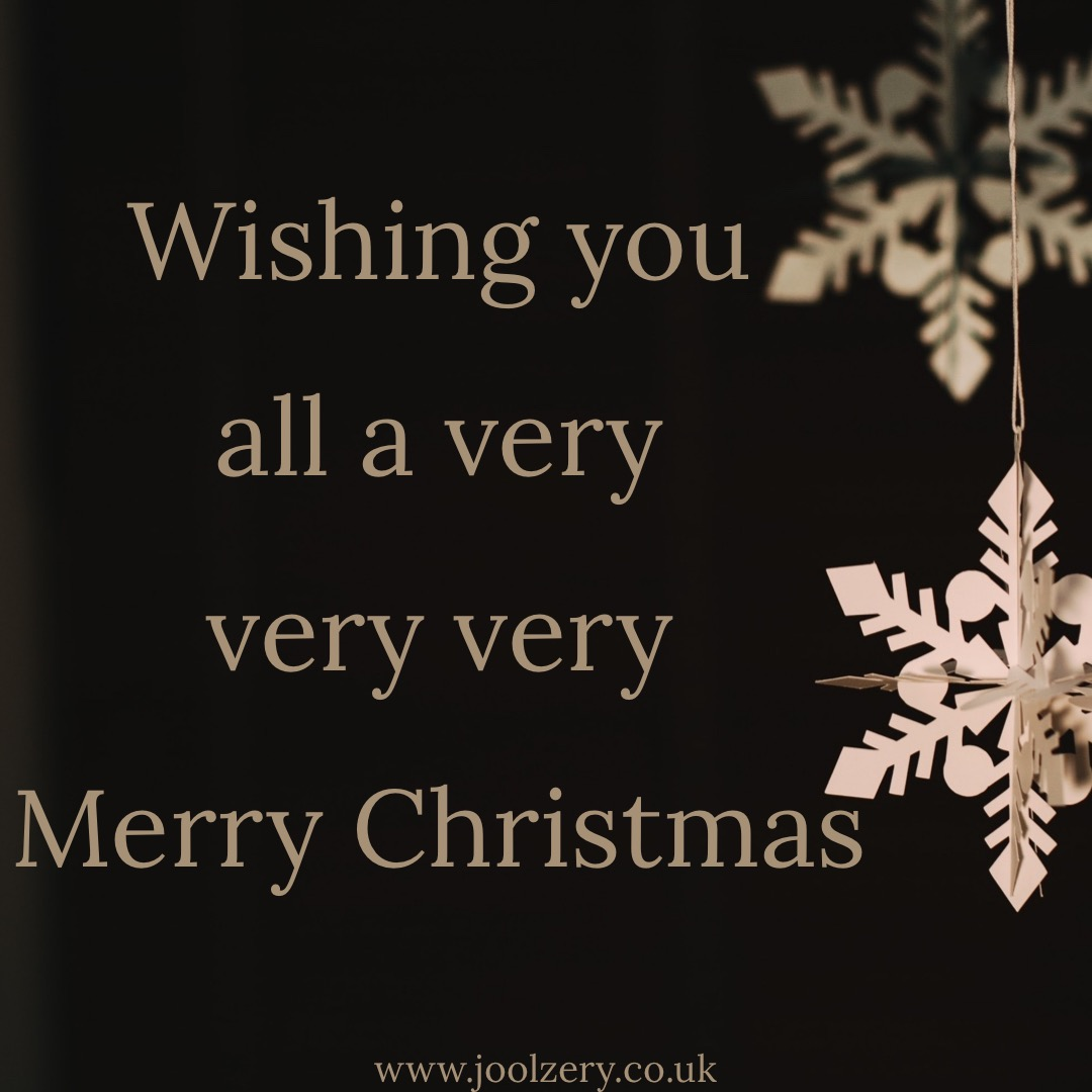 Christmas wishes from Joolzery