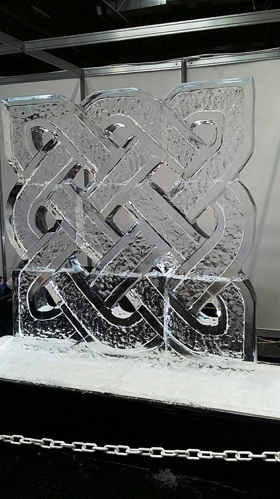 Irish Celtic Ice Design