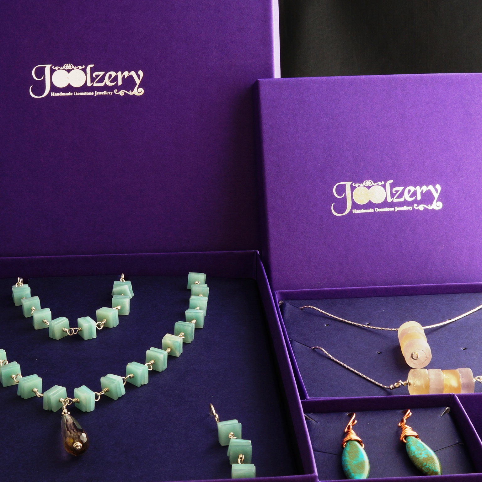 Joolzery New Jewellery Boxes with Jewellery