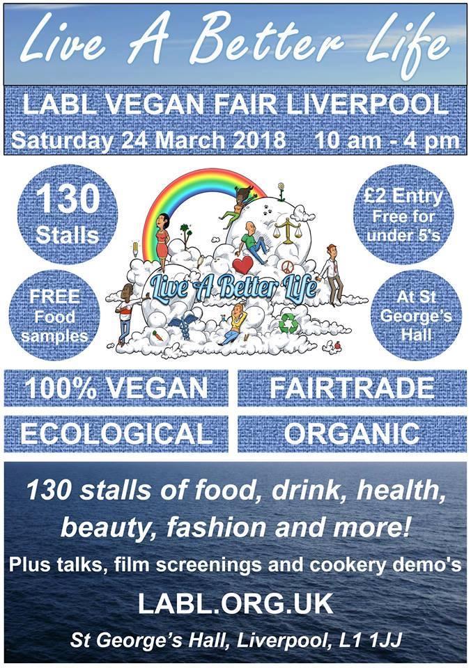 LABL Vegan Fair Liverpool Flyer