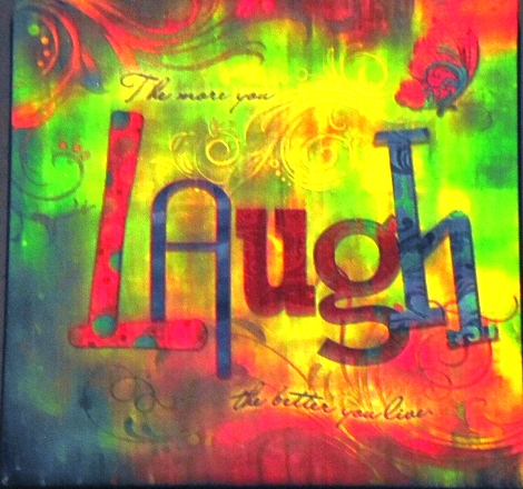 Laugh and Life Message