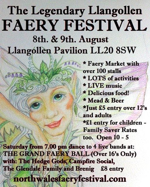 Llangollen 2015 Faery  Festival
