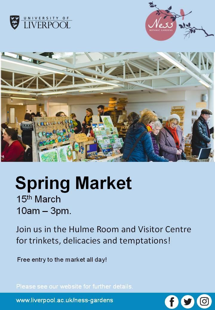 Ness Gardens 2020 Spring Market Flyer