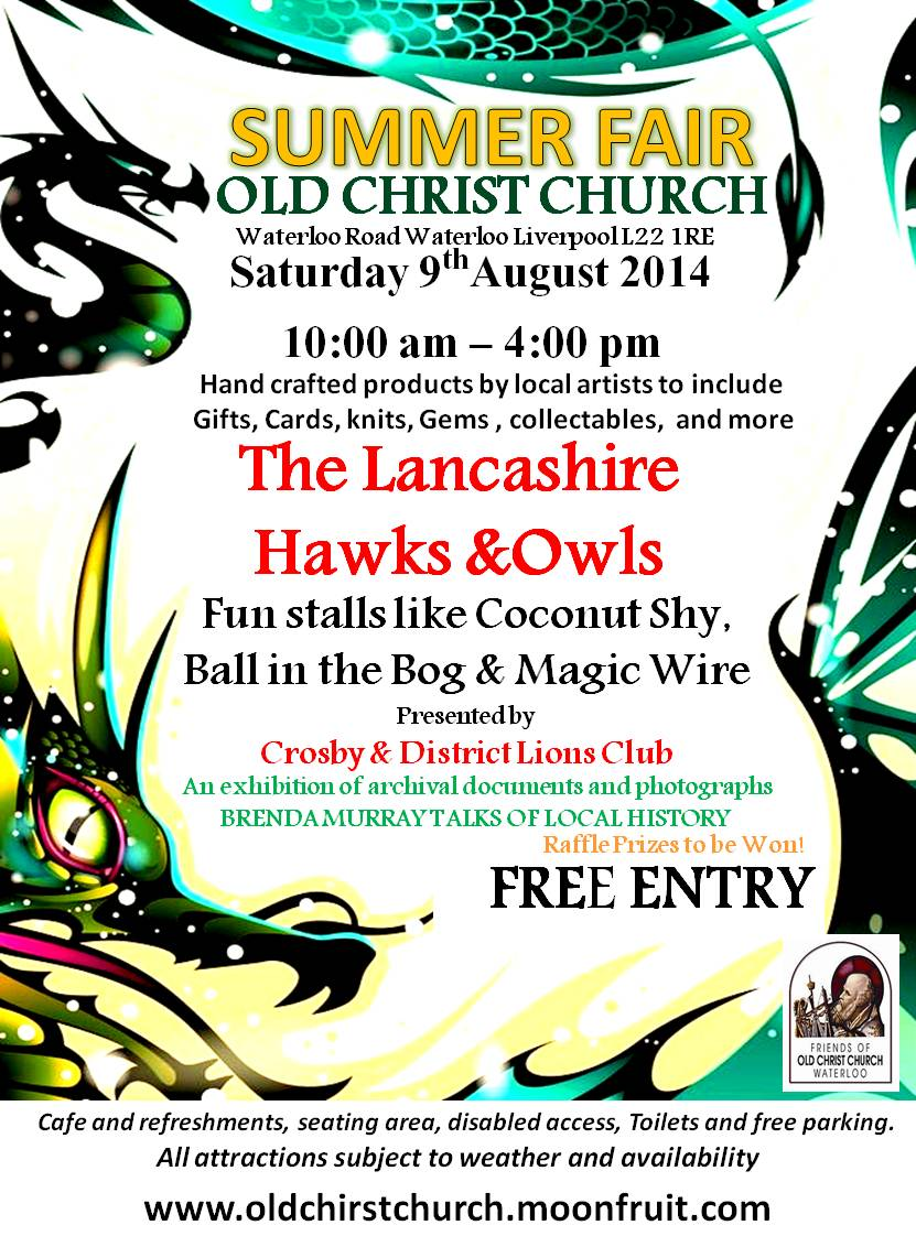 Old Christ Church Summer Fayre