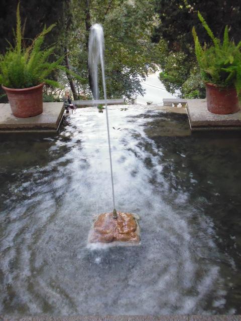 Parc de Montjuic Fountain