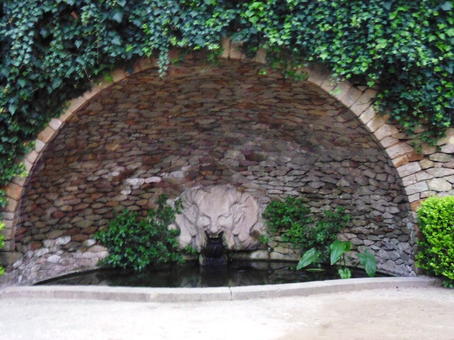 Parc de Montjuic Fountain 3
