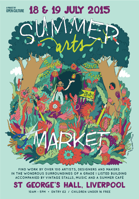 Summer Arts Market 2015 Flyer