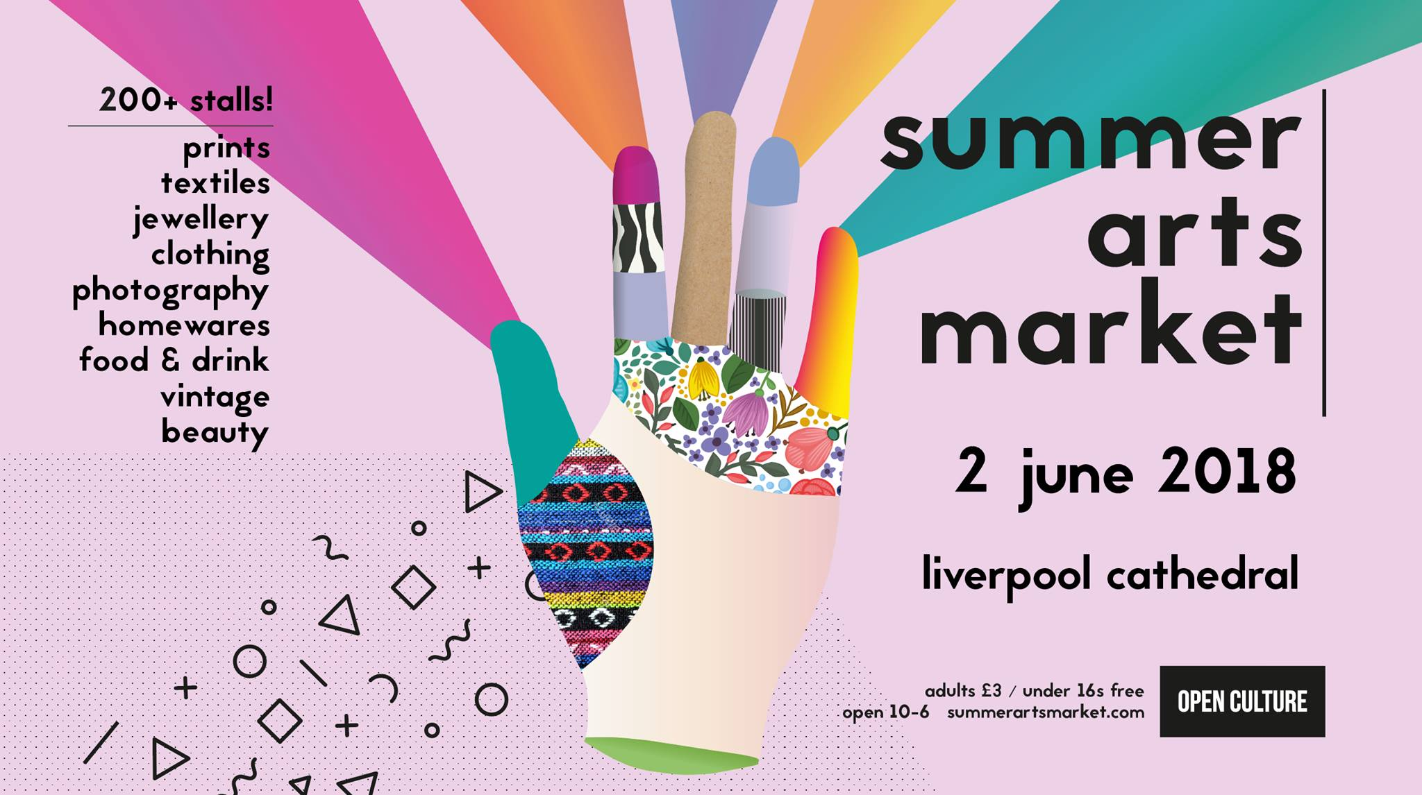 Open Culture Summer Arts Market 2018 Liverpool Cathedral