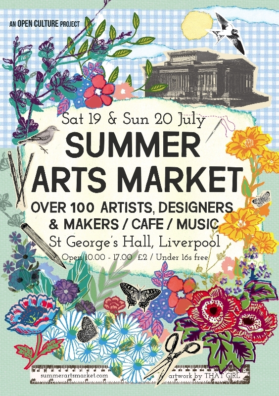Liverpool Summer Arts Market 2014