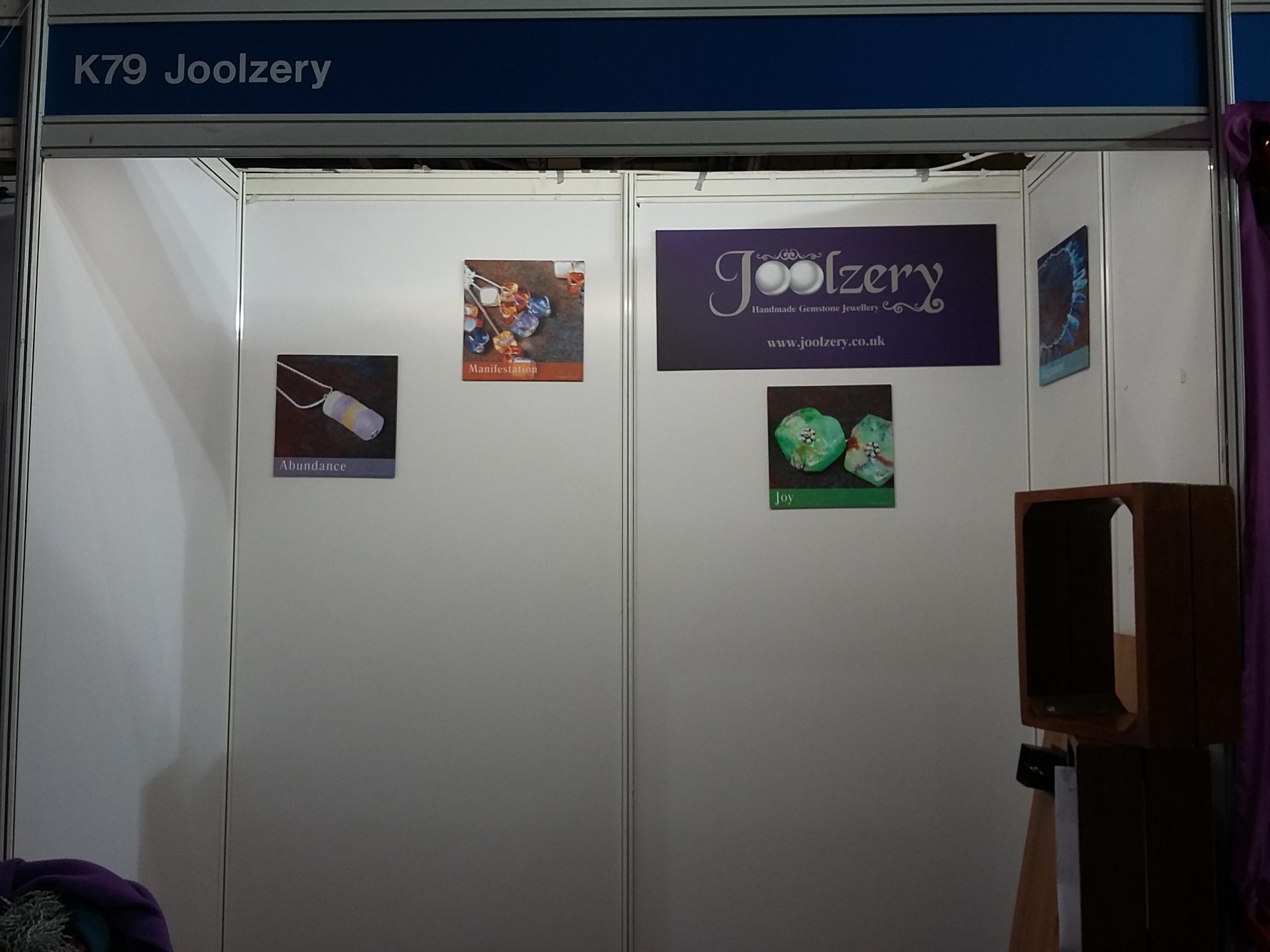 Joolzery K79 Scotland Trade Show In Progress