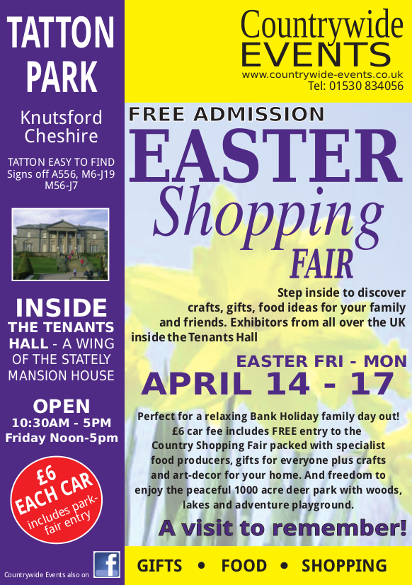 Tatton Park Easter Shopping Fair 2017