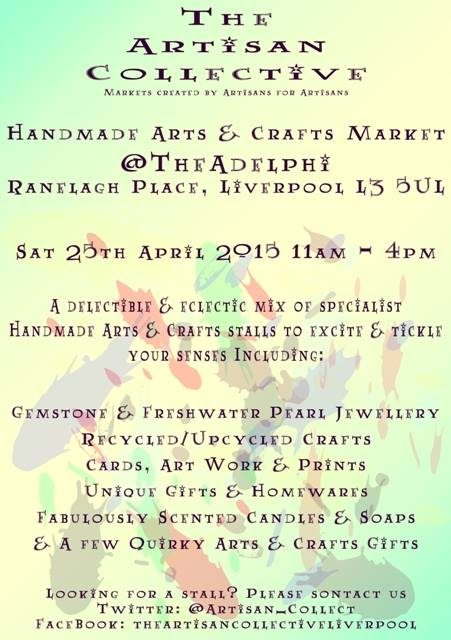 Handmade Arts & Crafts Market @TheAdelphi