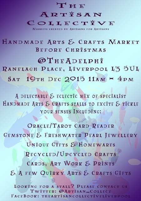 The Artisan Collective Handmade Arts & Crafts B4 Xmas Market