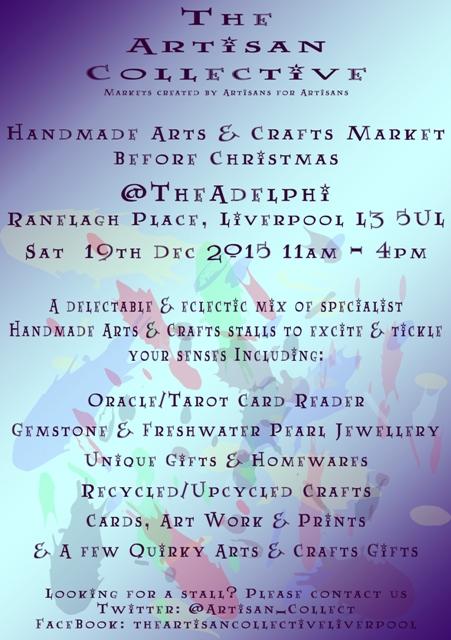The Artisan Collective Handmade Arts & Crafts B4 Xmas Market