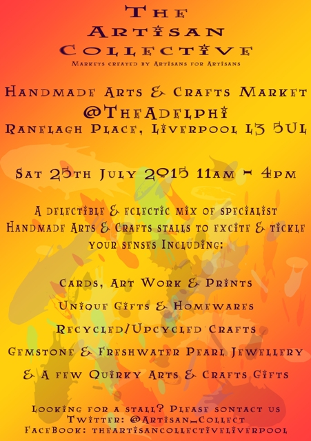 The Artisan Collective July Handmade Arts & Crafts Market