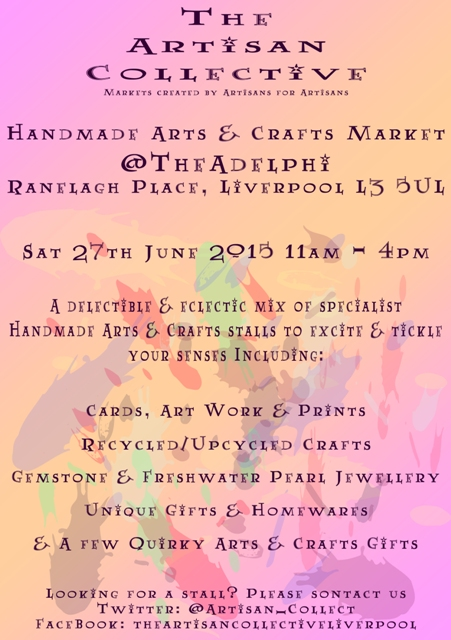 The Artisan Collective June Handmade Arts & Crafts Market