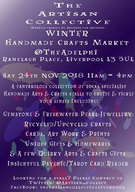 The Artisan Collective - Winter Handmade Crafts Market @TheAdelphi