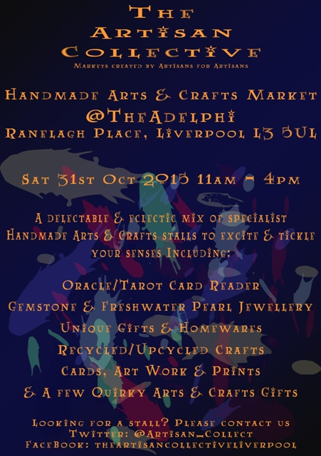 October Handmade Arts & Crafts Market @TheAdelphi
