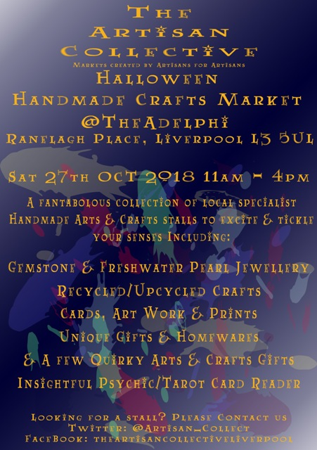 The Artisan Collective - Halloween Handmade Crafts Market @TheAdelphi