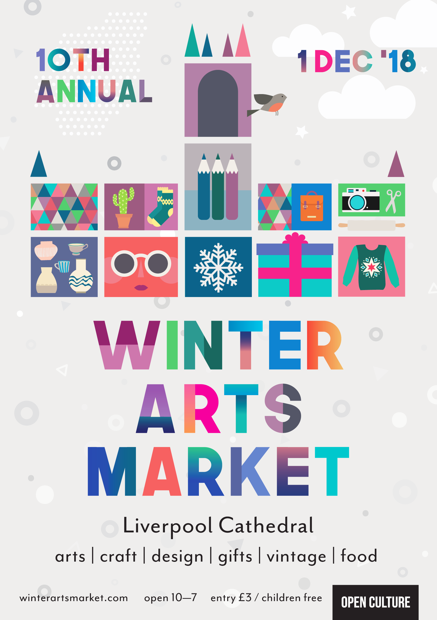 Open Culture Winter Arts Market 2018