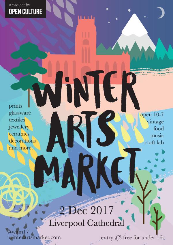Open Culture Winter Arts Market 2017 flyer