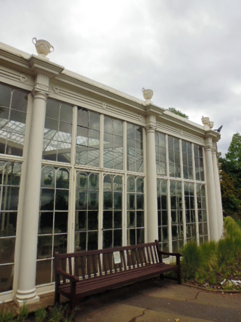 Wollaton Hall - Carnelia House Oldest Glasshouse in Europe