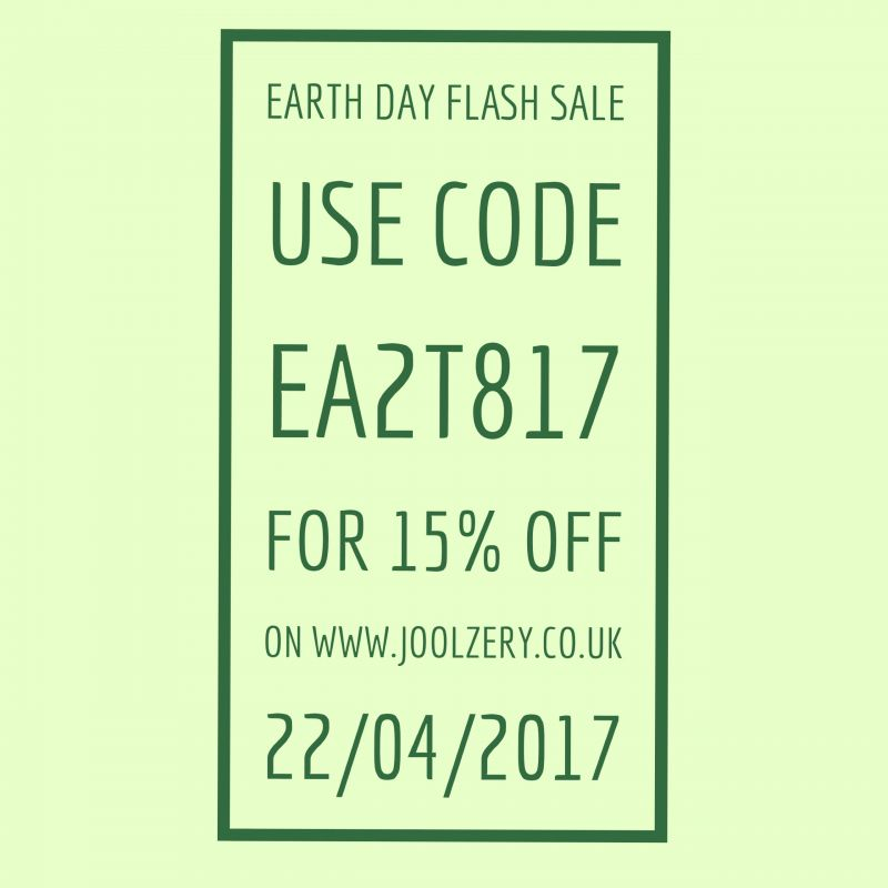 2017 Earth Day Flash Sale Voucher Code