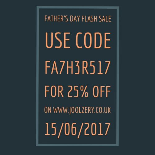 2017 Father's Day Flash Sale Voucher Code