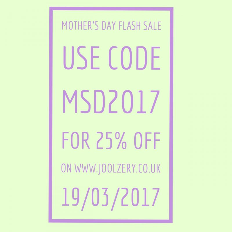2017 Mothers Day Flash Sale Voucher Code